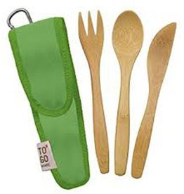 ChicoBag TO GO WARE, UTENSIL SET - AVOCADO