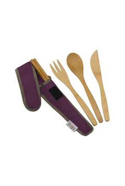 To Go Ware, Utensil Set, Purple