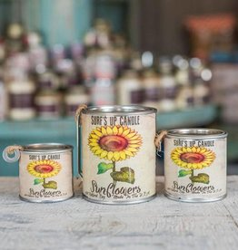 Surf's Up Candle Sunflowers Paint Can Candle, Pint
