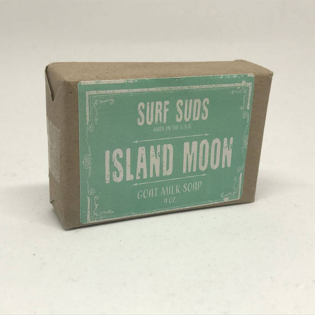 Surf's Up Candle Island Moon Surf Suds, 4oz