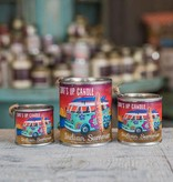 Surf's Up Candle Indian Summer Paint Can Candle, Quarter Pint
