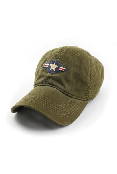 Air Force Insignia Ballcap, Olive