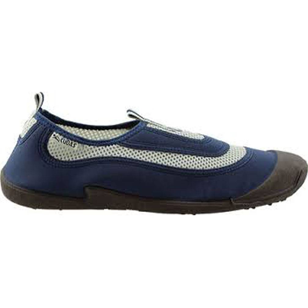 Kid's Flatwater Cudas, Navy/Grey