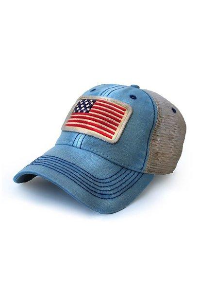 USA 1812 Flag Trucker Hat