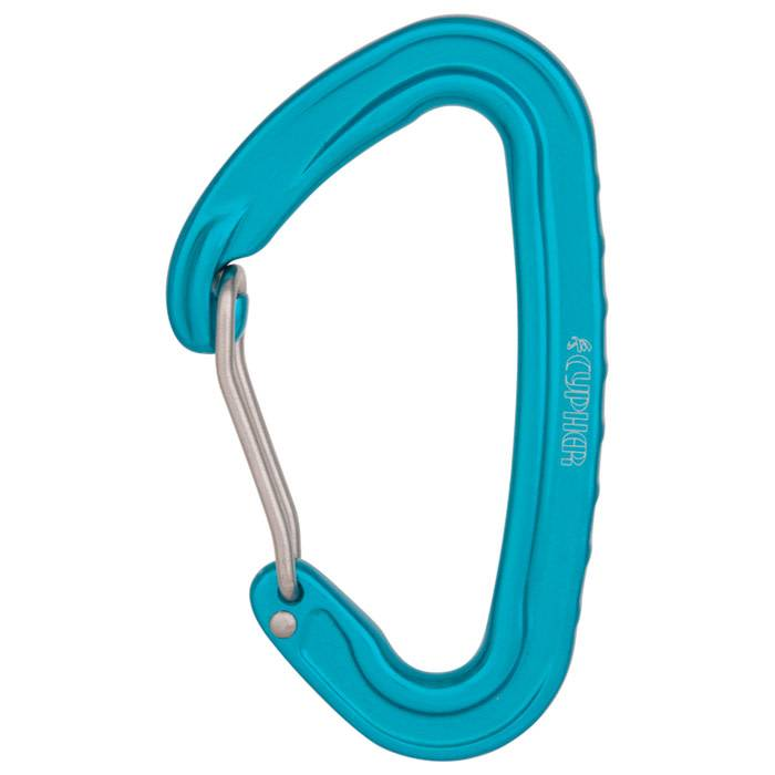 Liberty Mountain Cypher Ceres II Wire Carabiners, Sky Blue