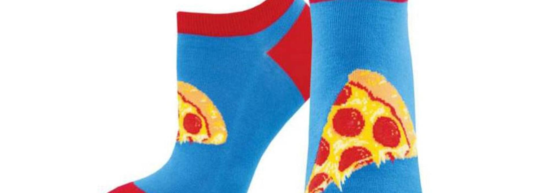 W's Anyway You Slice It Shortie Socks, Blue