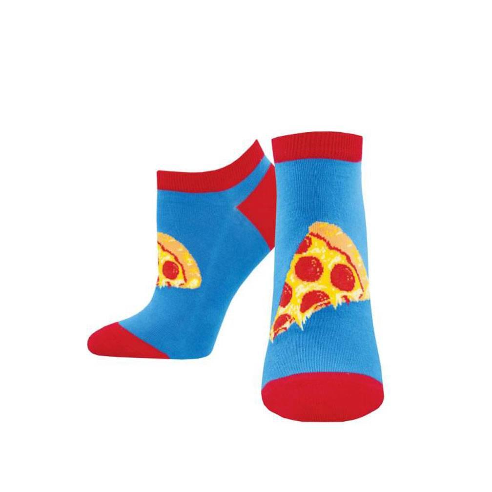 W's Anyway You Slice It Shortie Socks, Blue-1