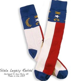 S.L. Revival Co. North Carolina State Flag Socks