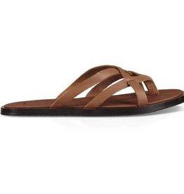 Sanuk W's Yoga Strappy Sandal, Tobacco