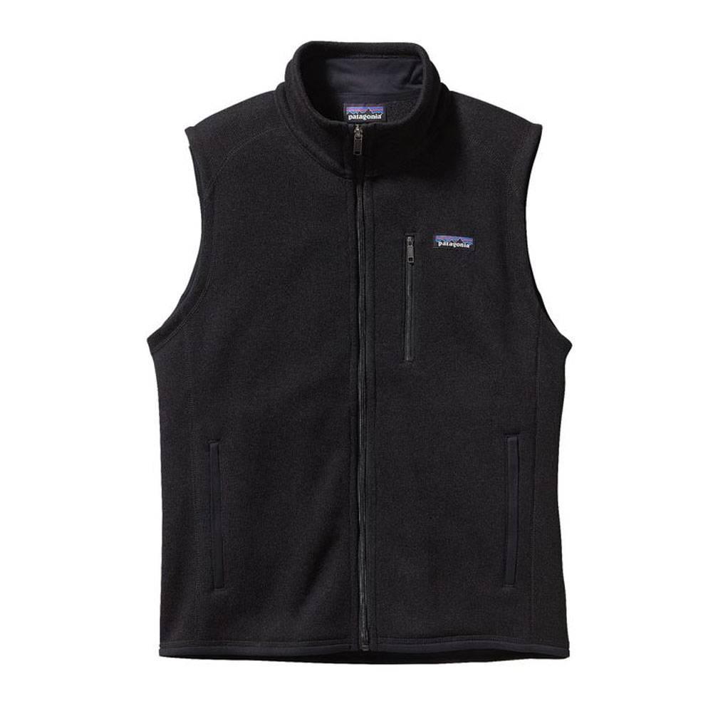 Men's Better Sweater Fleece Vest, Black-1