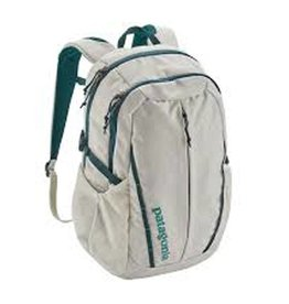 Patagonia W's Refugio Pack 26L, Birch White w/Tidal Teal