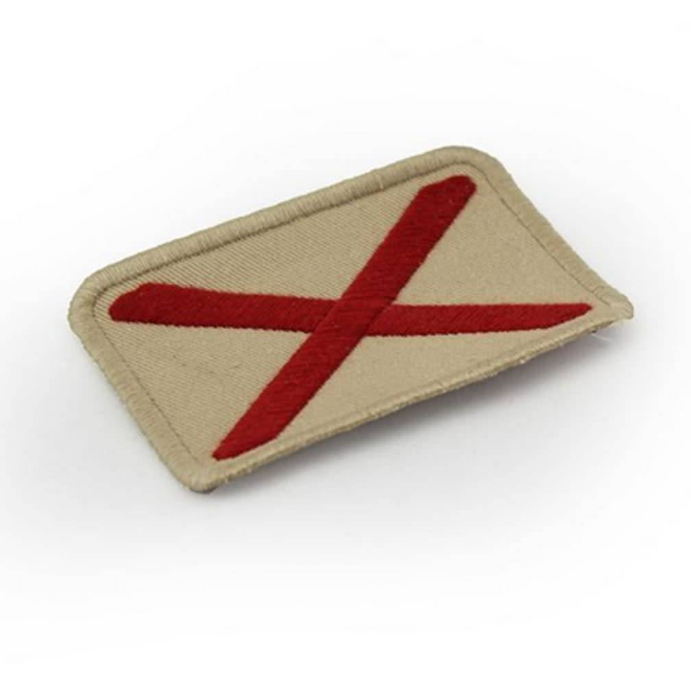 Alabama Embroidered Flag Patch-1