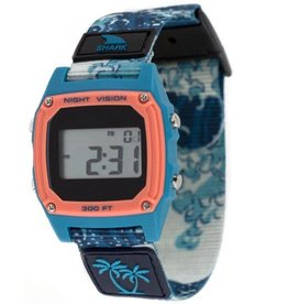 Freestyle Watches Luke Davis Signature Shark Classic Clip, Blue Wave