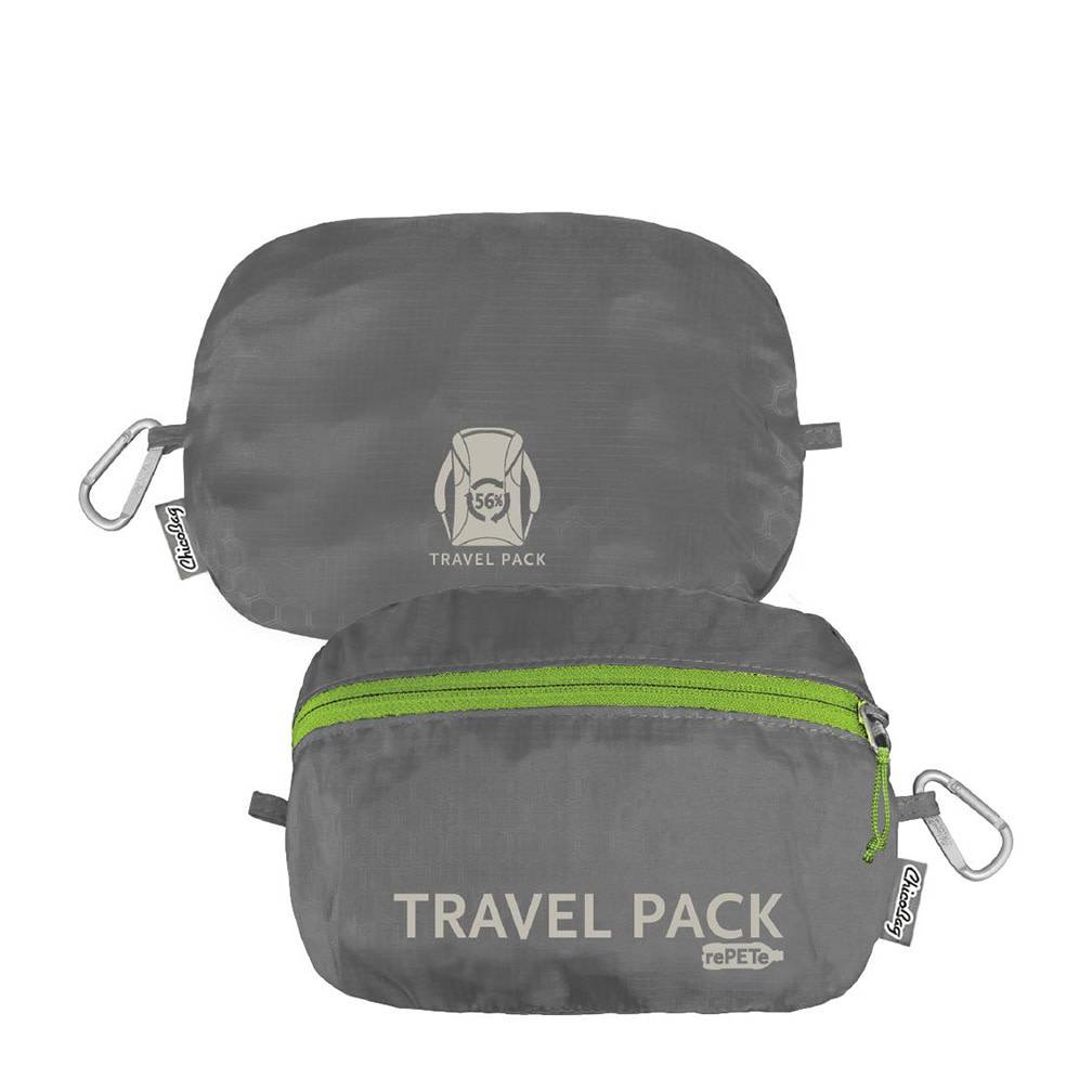 ChicoBag Travel Pack rePETe, Storm Front