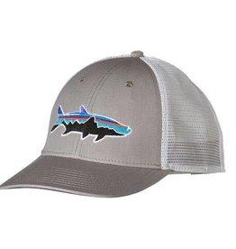 Patagonia Fitz Roy Tarpon LoPro Trucker Hat, Drifter Grey