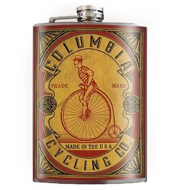 Trixie & Milo 8oz Flask, Columbia