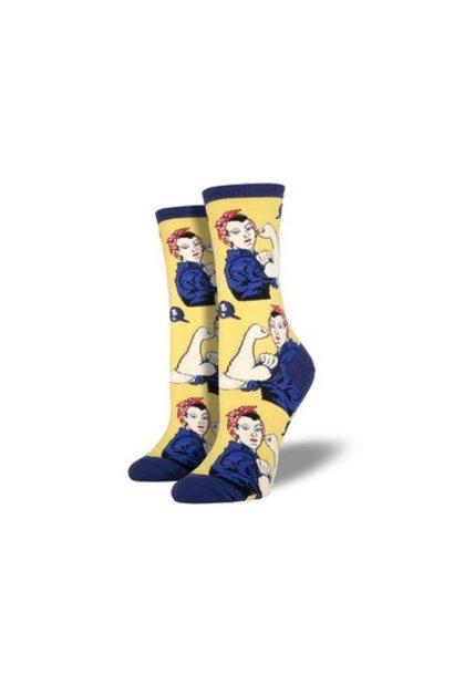 W's Rosie Socks, Yellow