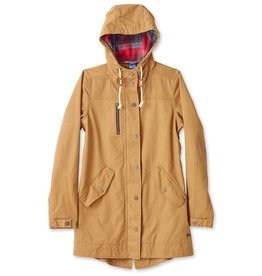 Kavu Women's Sundowner Jacket, Tobacco