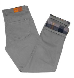 Jetty Men's Flanstone Pants, Light Grey