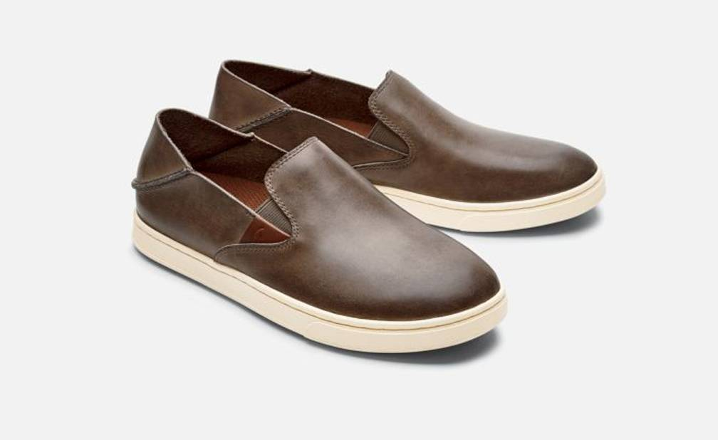 Olukai Olukai Women's Pehuea Leather, Espresso