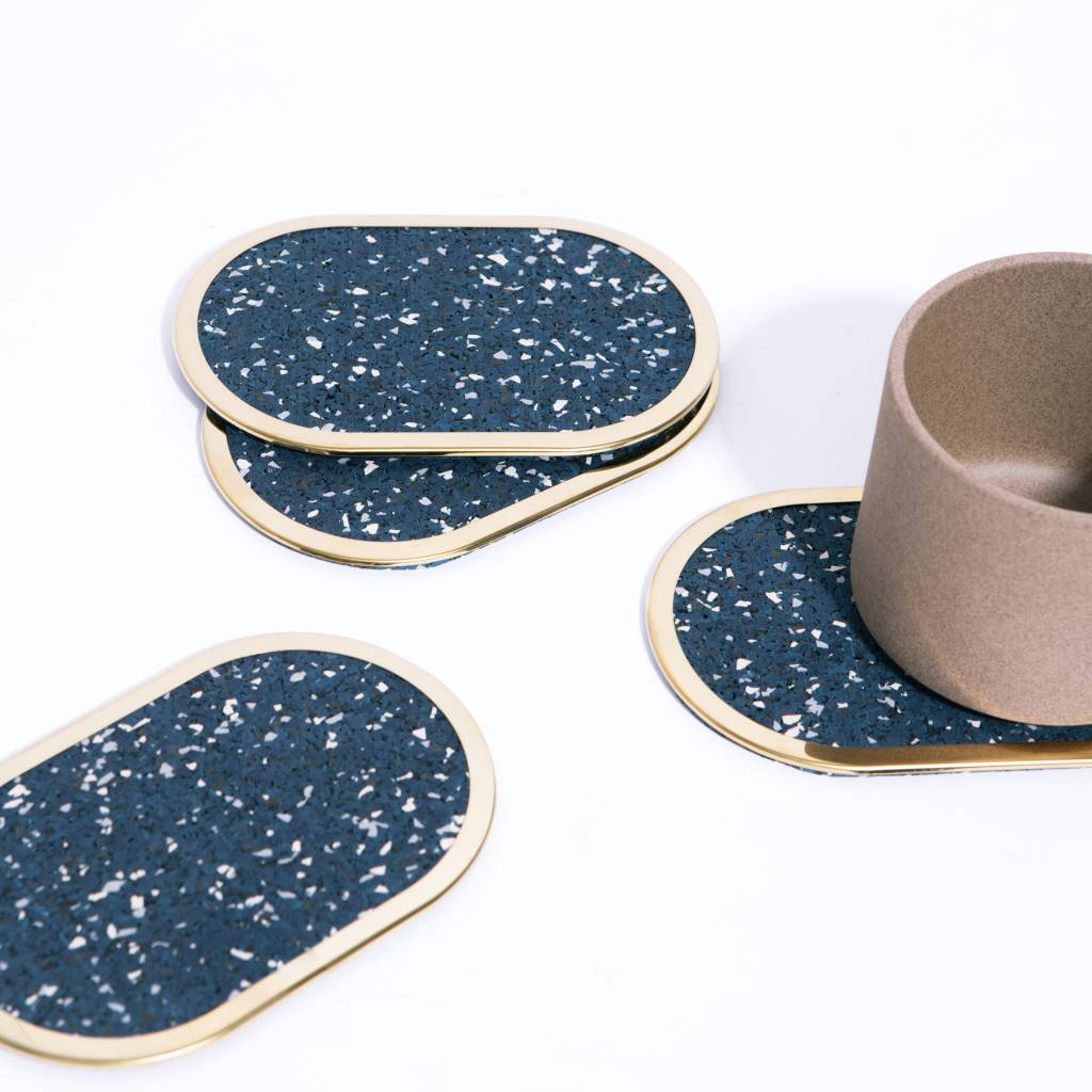 Slash Objects Rubber Ring Coasters