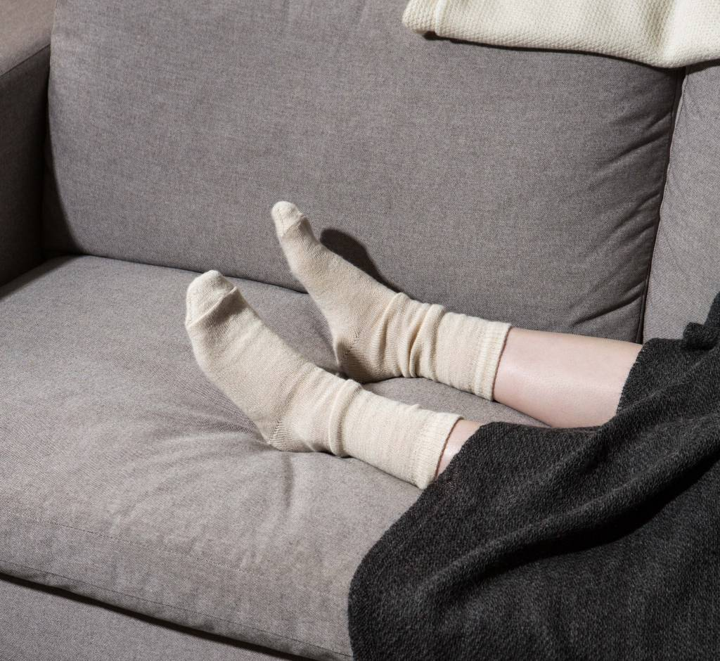 Long Hollow Suri Alpacas Alpaca Socks