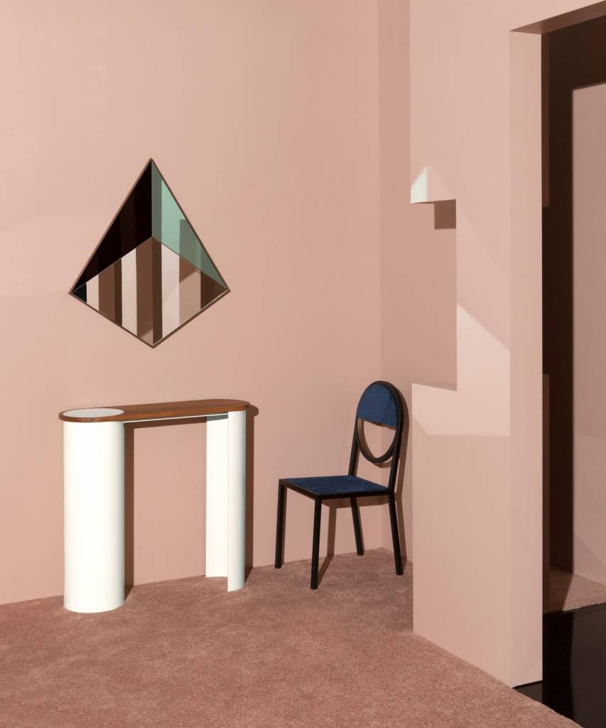 Bower Pyramid Mirror