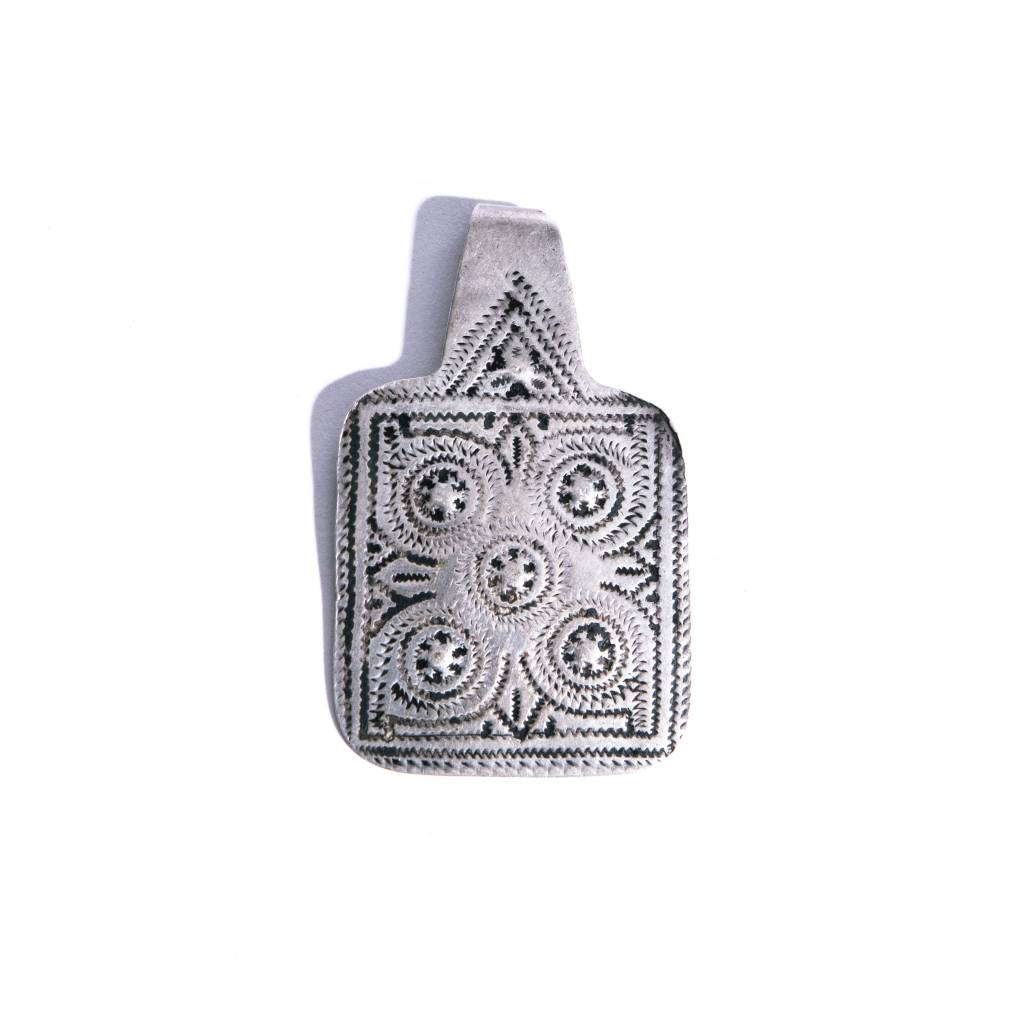 Ford Wheeler Vintage  Silver Pendant - S