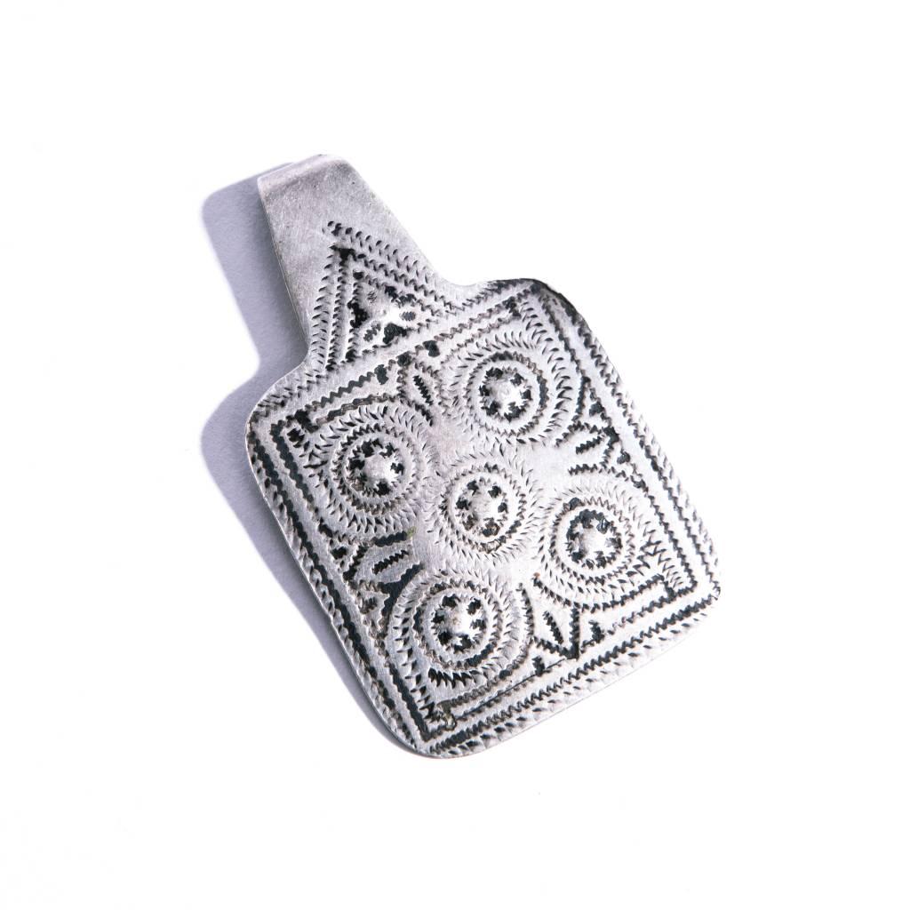 Vintage  Silver Pendant - S