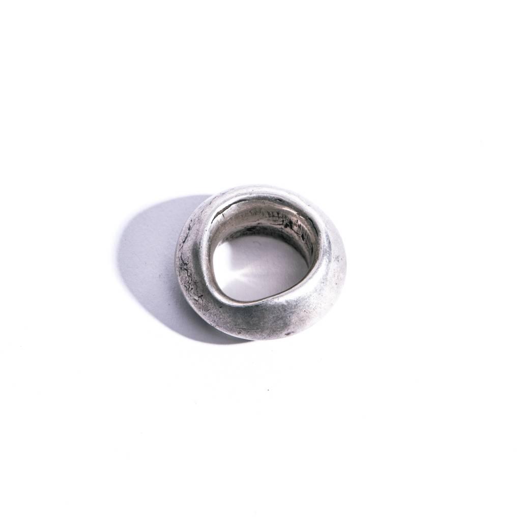 Vintage Ethiopian Silver Pendant - M