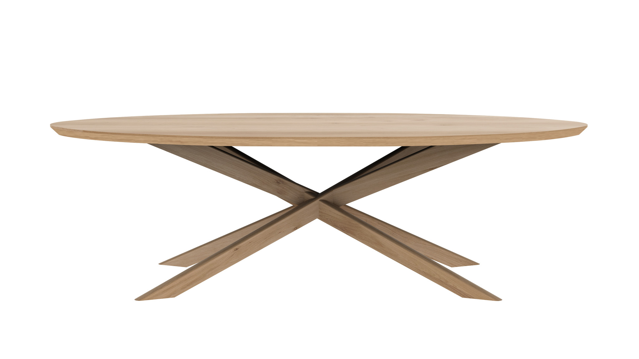 Ethnicraft Oak Mikado Coffee Table - Oval