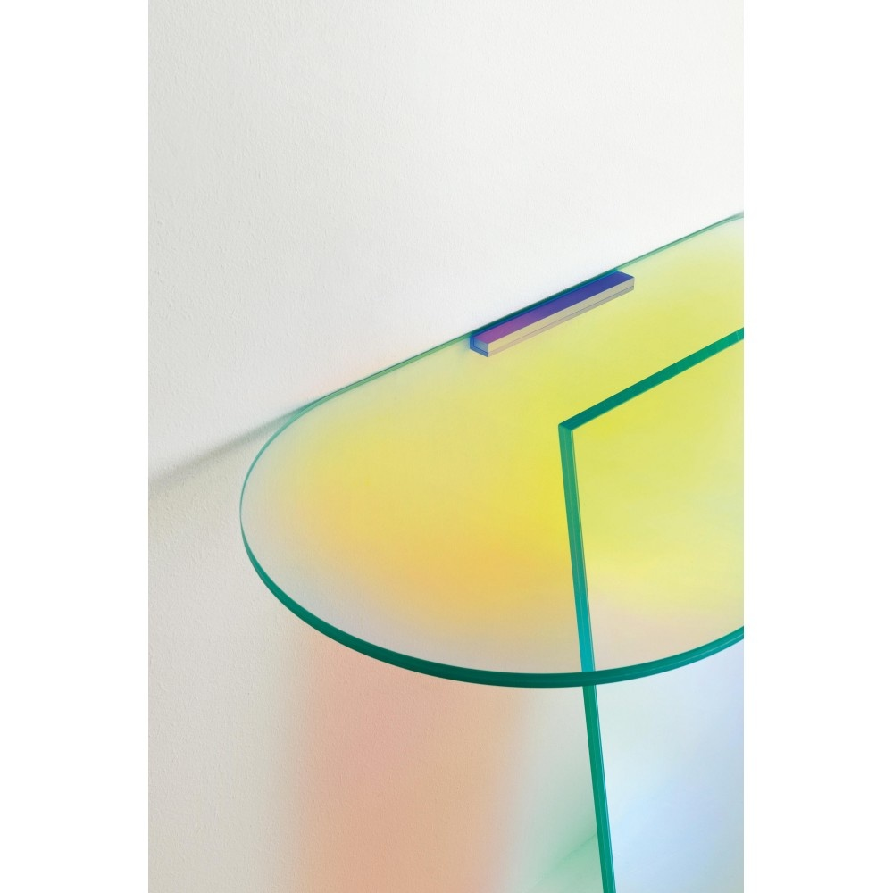 Glas Italia Shimmer Console Table