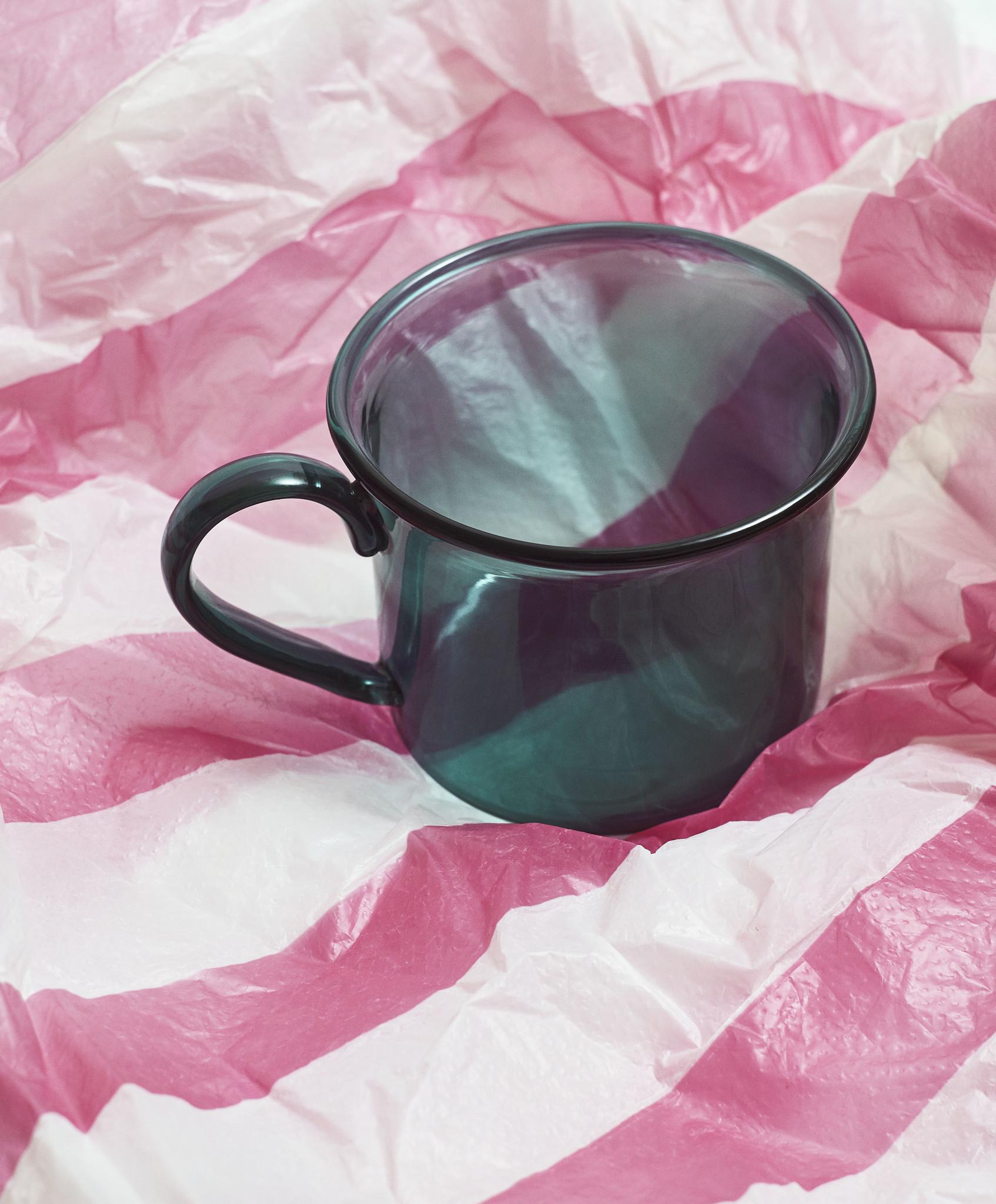 Hay Borosilicate Cup - Aqua