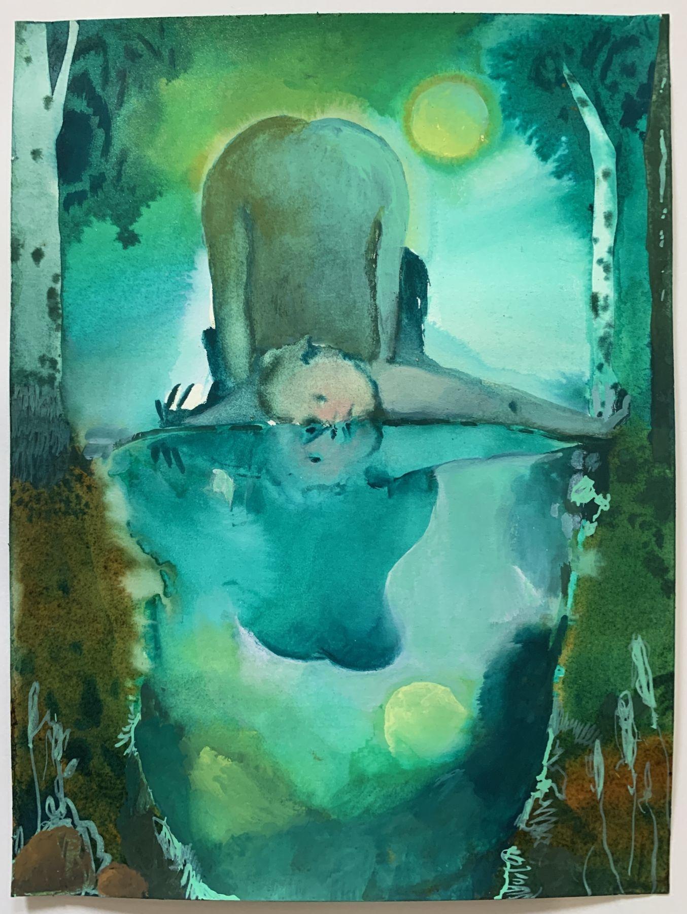 "Elizabeth Glaessner ""Pond Gazing"""
