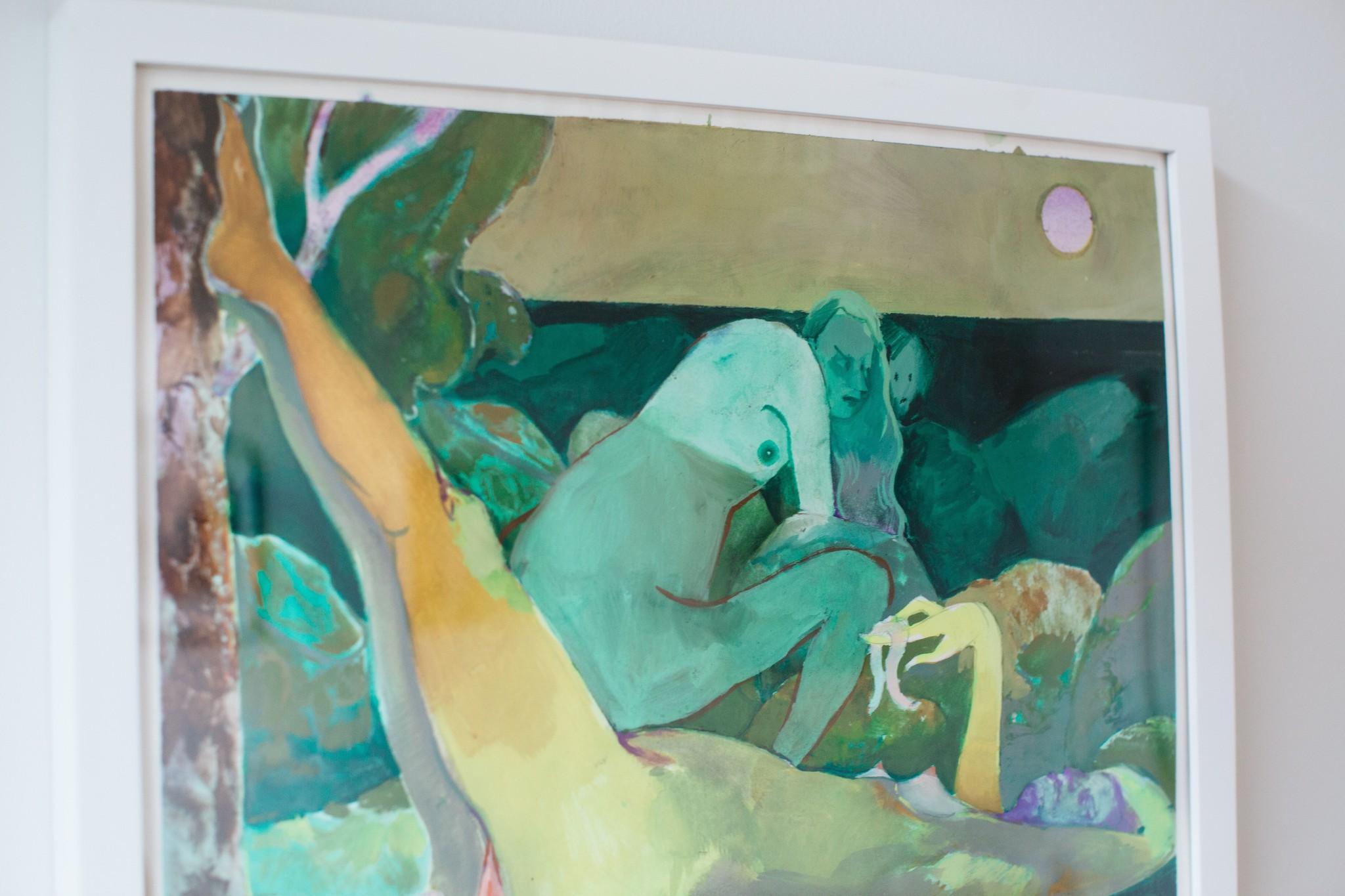"""Elizabeth Glaessner """"A Worm's Eye View"""""""