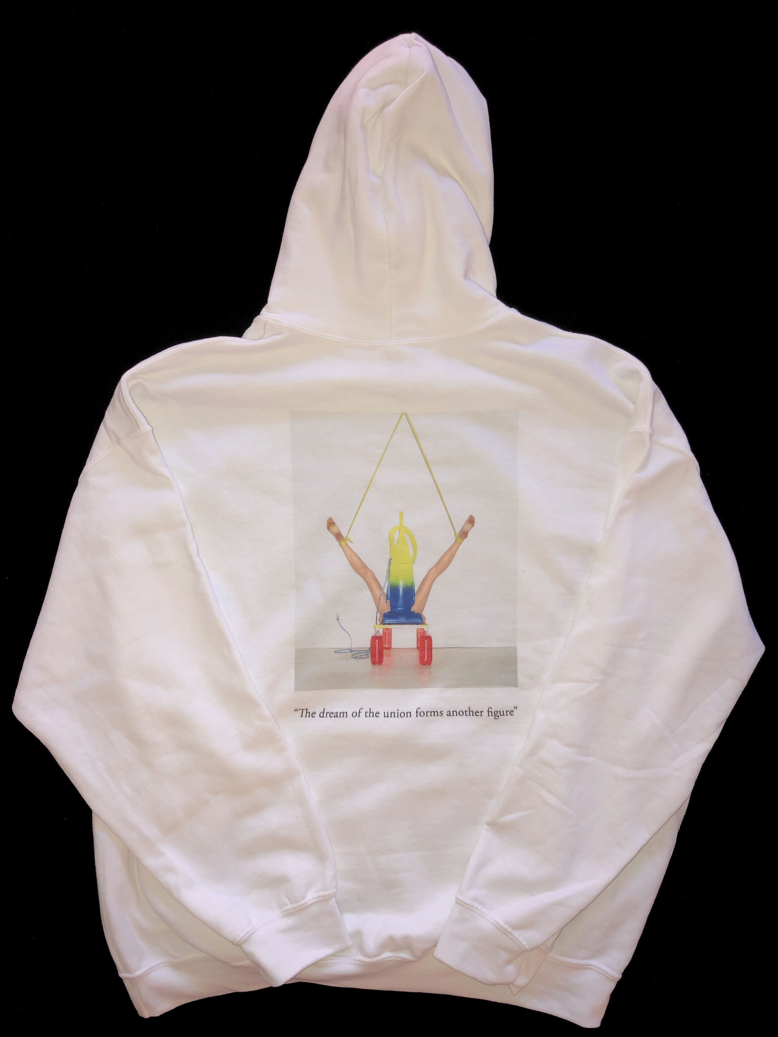 "Benjy Russell ""The dream of the union forms another figure"" Hooded Sweatshirt"