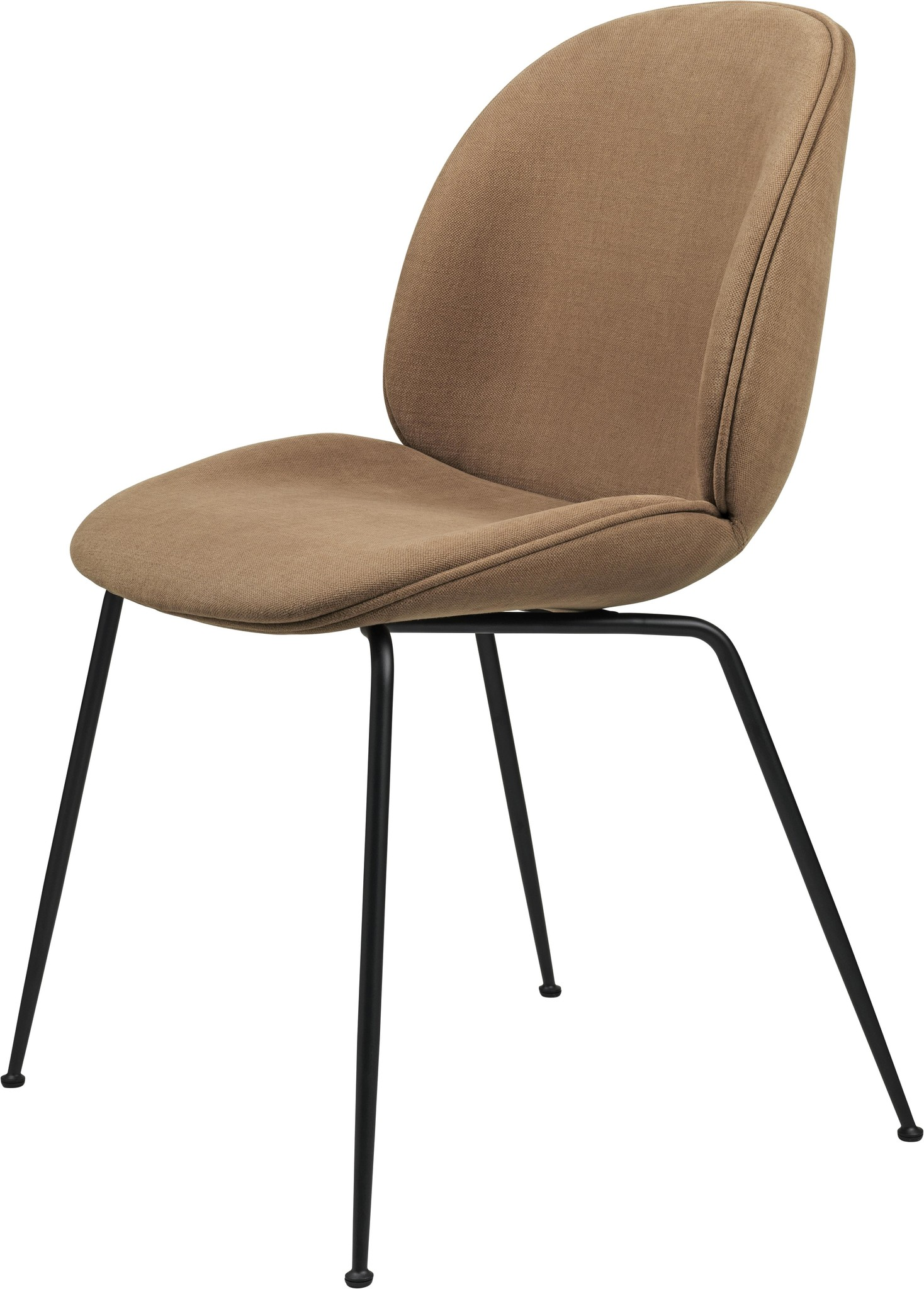 Gubi Beetle Dining Chair - Fully Upholstered - Conic base