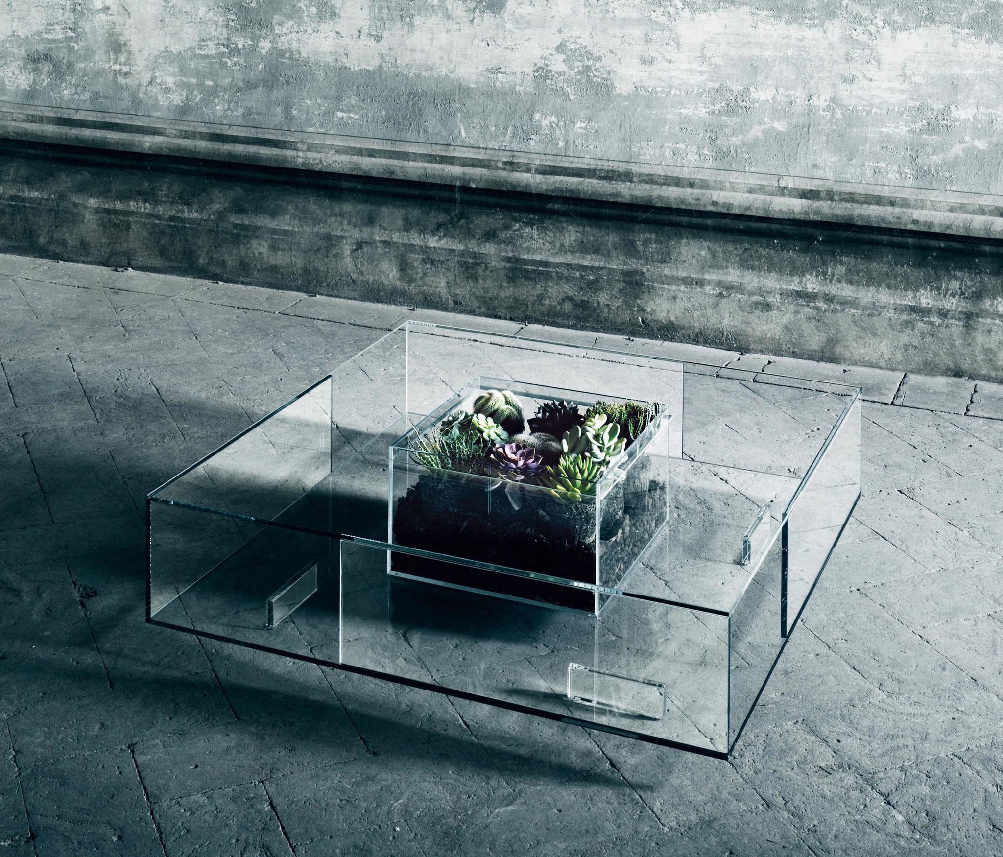Glas Italia Seasons Table w/ Basin