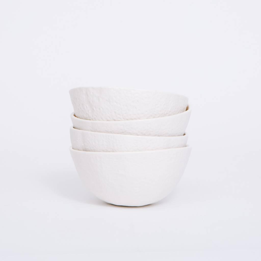Areaware Stone Fruit Bowls, 4