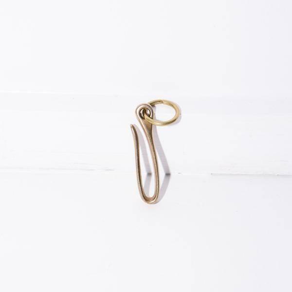Standard Pattern Co Solid Brass Belt Hook