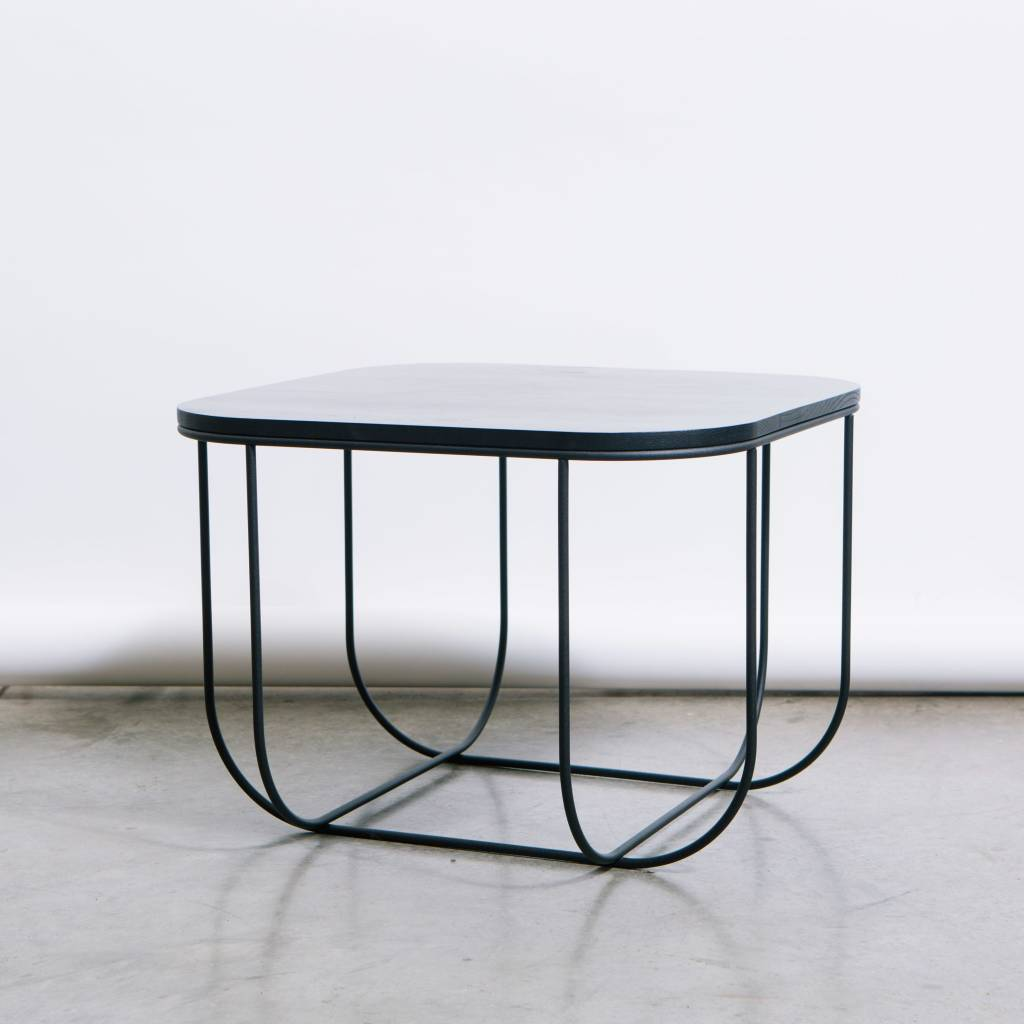 Menu Cage Table  Black/Dark Ash