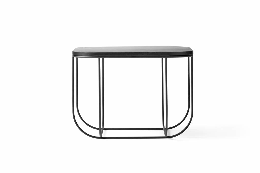 Menu Cage Table  Black/Dark Ash