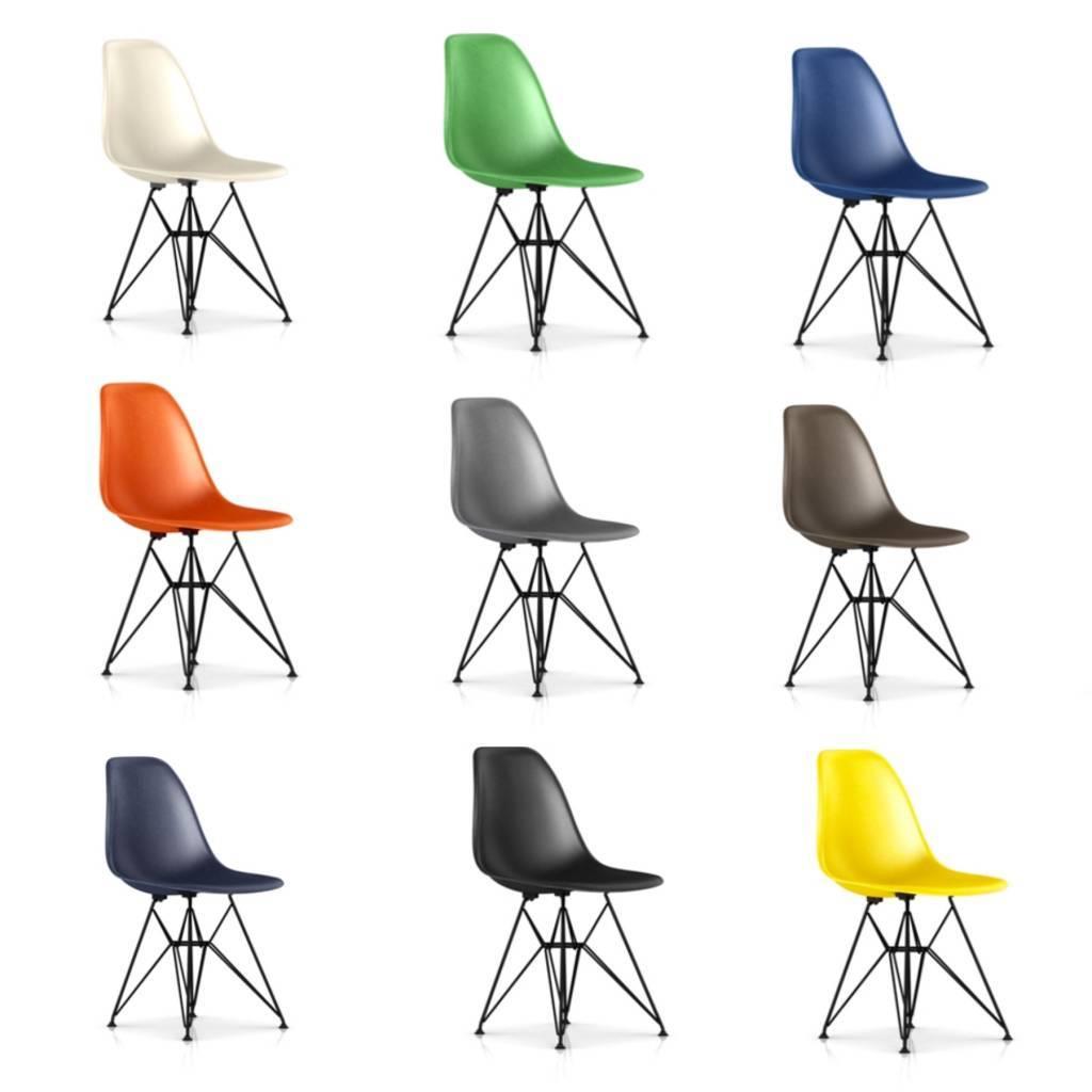 Herman Miller Eames® Molded Fiberglass Sidechair Wire Base