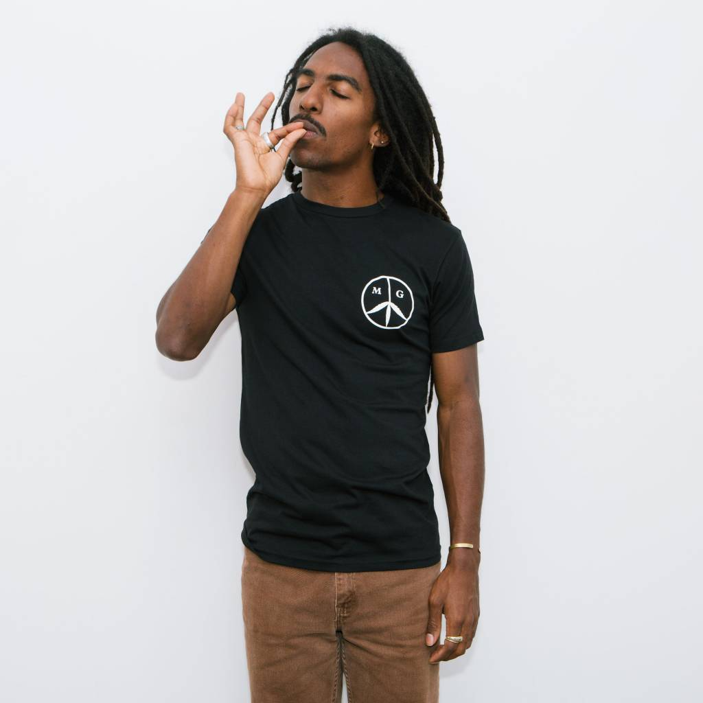Mister Green Peace Logo Shirt Black