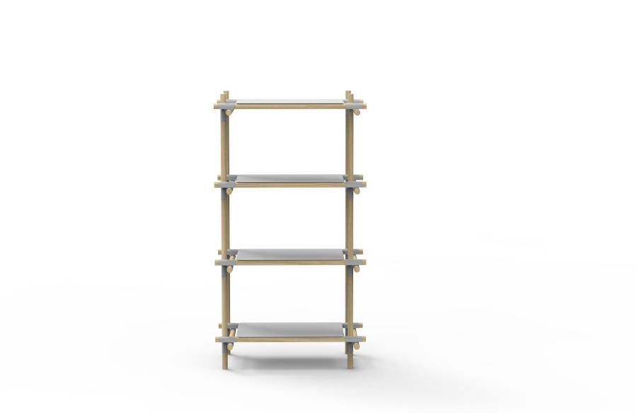 Menu Menu Stick System Shelving Grey/Light Ash