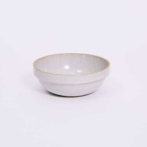 Hasami Porcelain Hasami Porcelain Gloss Gray Round Bowl