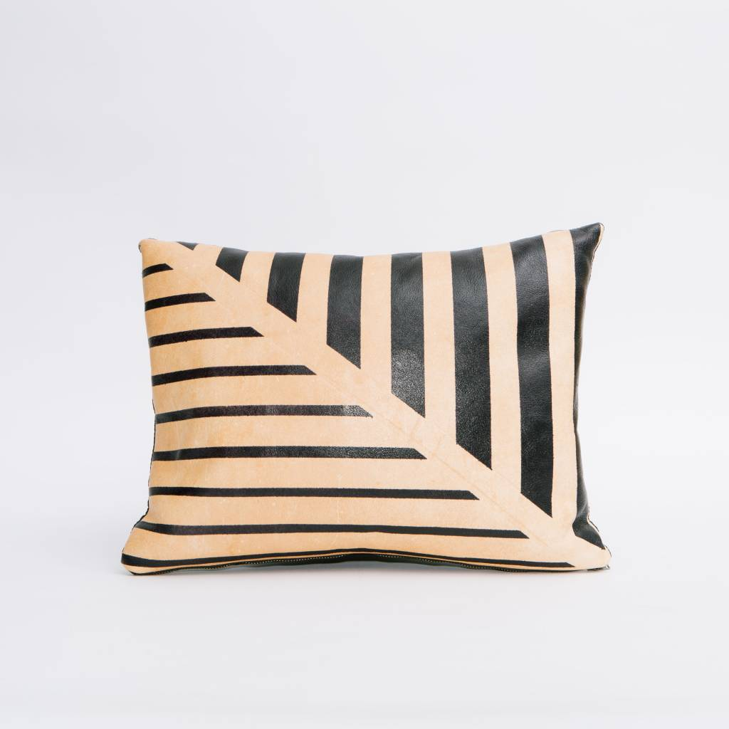 Avo Black Lines Pillow