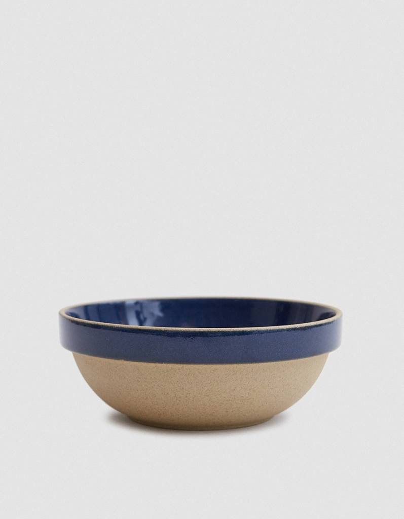 Hasami Porcelain Hasami Porcelain Gloss Blue Round Bowl