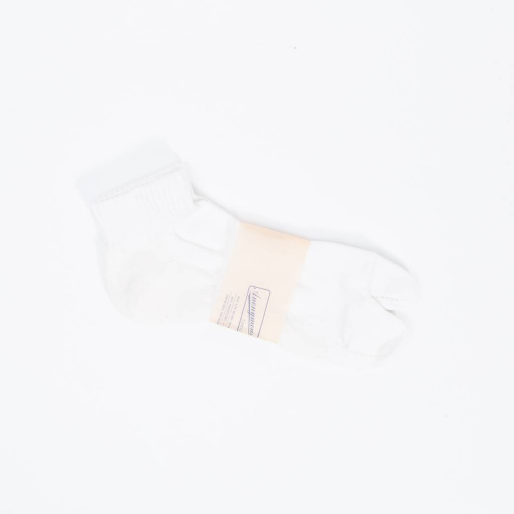 Anonymous Ism Separate Middle Socks, White