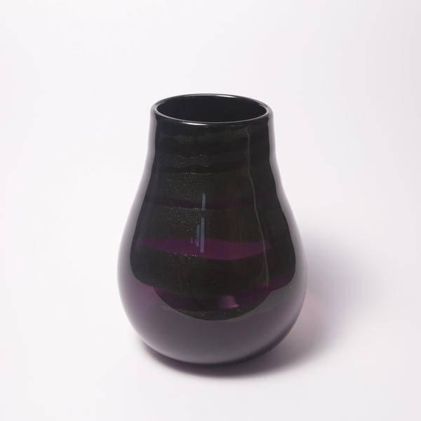 David Gibson Hand Blown Glass Vase